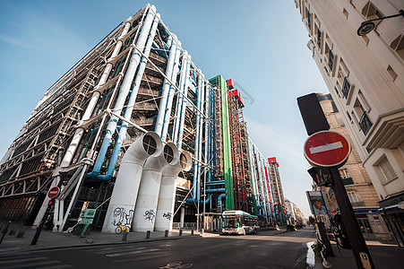 法国巴黎蓬皮杜艺术中心图片