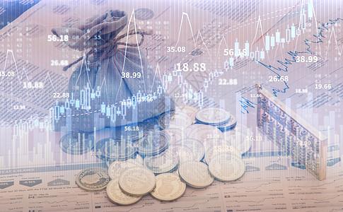 数据股票图片