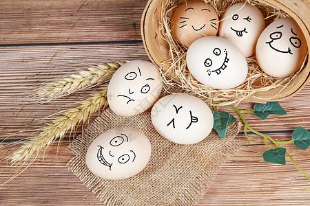 鸡蛋表情包高清图片