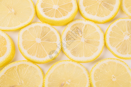 柠檬水果切片图片