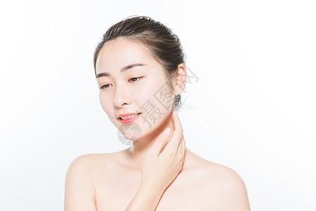 美丽女性水润护肤图片