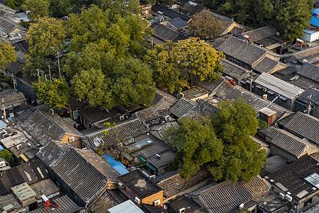 北京胡同四合院图片