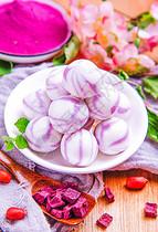 彩色火锅圆子图片
