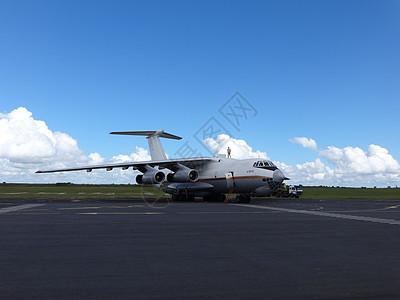 莫桑比克机场大型运输机图片
