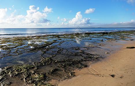 莫桑比克海峡风光珊瑚海滩图片