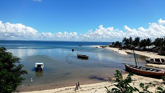 莫桑比克海峡风光美丽小港湾图片