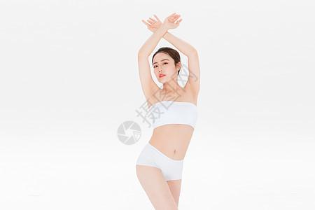 女性形体身材展示图片