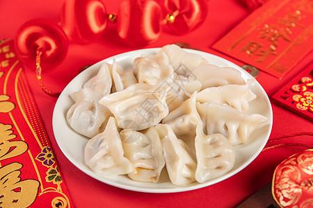 过年春节饺子图片