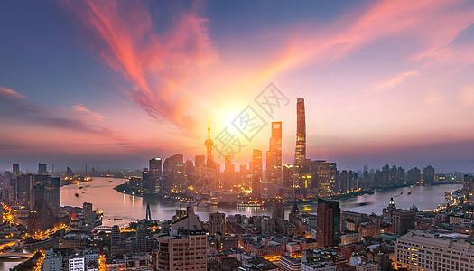 唯美夕阳城市 图片
