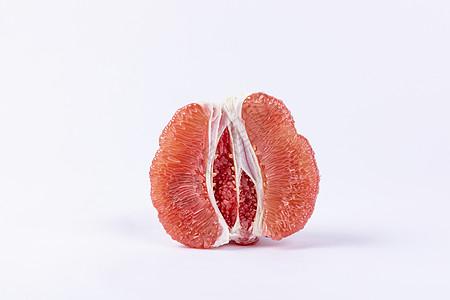 新鲜红心蜜柚图片