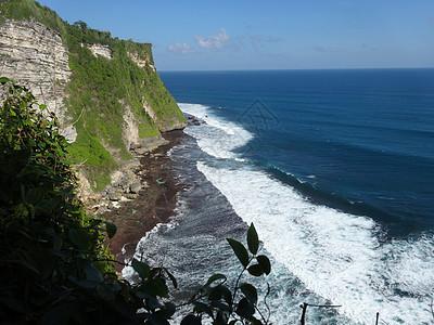 印尼巴厘岛情人崖图片