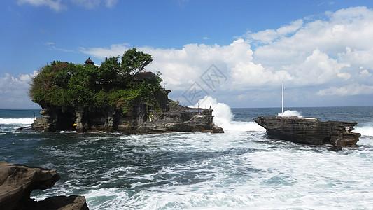 印尼巴厘岛海神庙图片