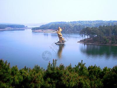 安徽合肥休闲游玩景点合肥岱山湖图片