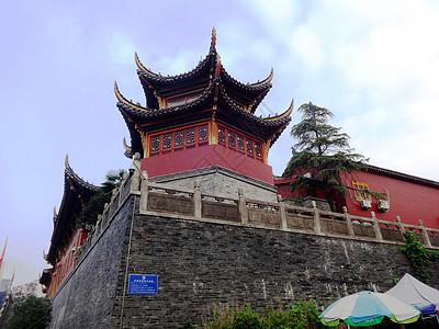 安徽合肥历史文化景点明教寺古教弩台图片