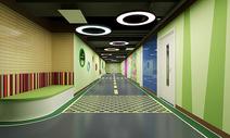 现代走廊过道图片
