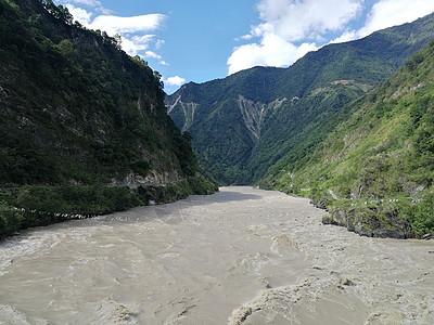 西藏雅鲁藏布江大峡谷图片