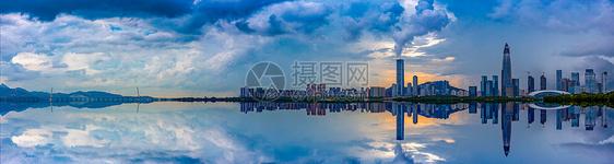 美丽深圳湾城市图片