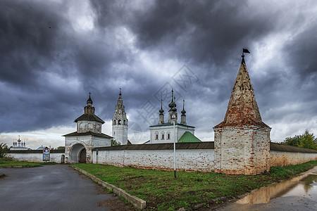 俄罗斯旅游小镇苏兹达尔复活教堂图片