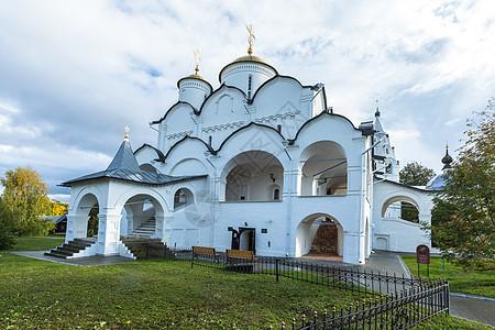 俄罗斯金环小镇苏兹达尔尤希米乌救世主修道院建筑群图片