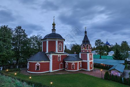 莫斯科郊区苏兹达尔小镇田园风光图片