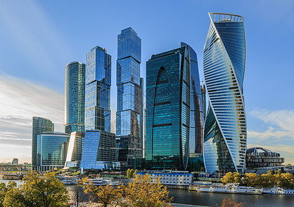 莫斯科现代化金融商业区莫斯科城图片