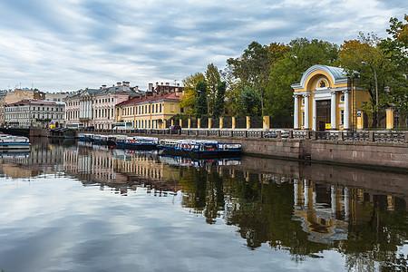 圣彼得堡涅瓦河水道图片