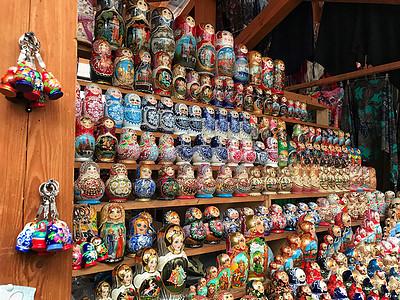俄罗斯手工艺品套娃图片