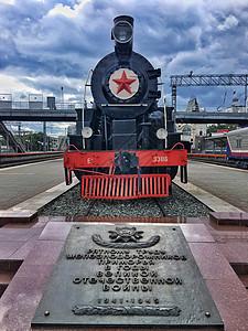 老式蒸汽火车头图片