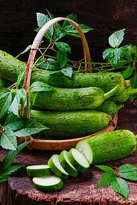 绿色丝瓜图片