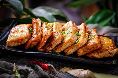 香煎豆腐图片