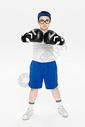 玩拳击的小朋友图片