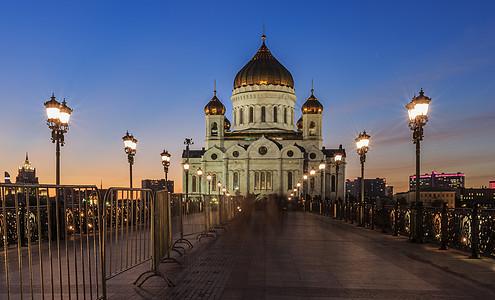 莫斯科著名教堂基督救世主大教堂图片