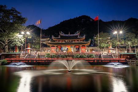 厦门南普陀寺夜景图片