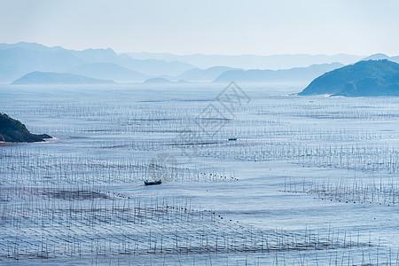 霞浦滩涂风光图片