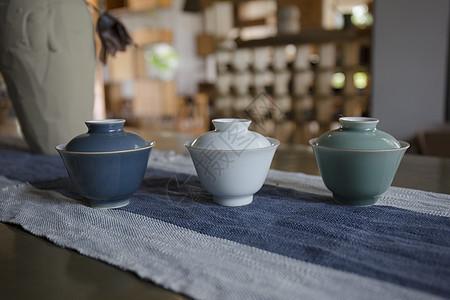 茶具茶室图片