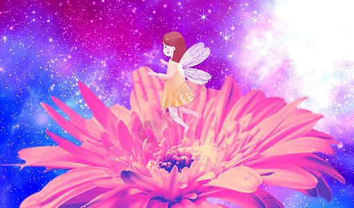 花蕾中舞蹈精灵图片