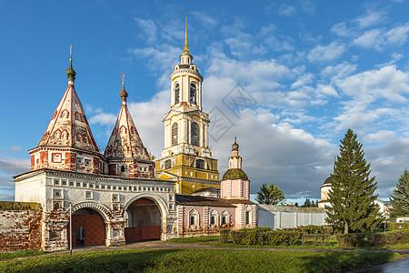 俄罗斯著名金环小镇苏兹达尔圣袍修道院图片
