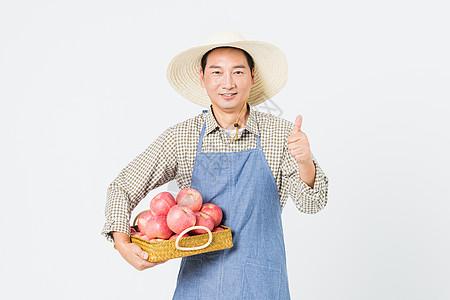 果农苹果丰收图片