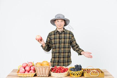 果农新鲜水果出售图片