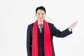 新春商务成熟男性图片