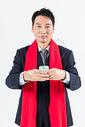 新春商务男性敬茶501085501图片
