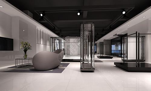 后现代大厅图片