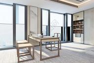 日式书房设计图片