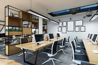 办公空间场景设计图片