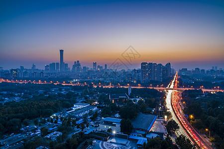 夜北京图片