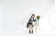 文艺少女501088040图片