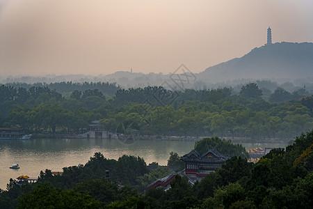 颐和园昆明湖图片