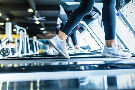 减肥器材_跑步机运动健身高清图片下载-正版图片501103341-摄图网
