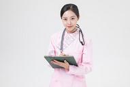 护士记录病例图片