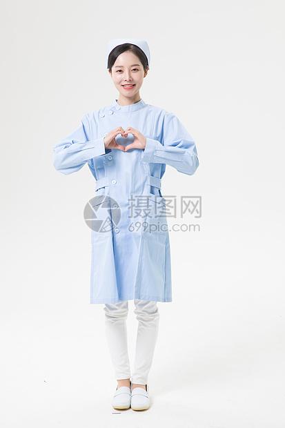 爱心护士图片